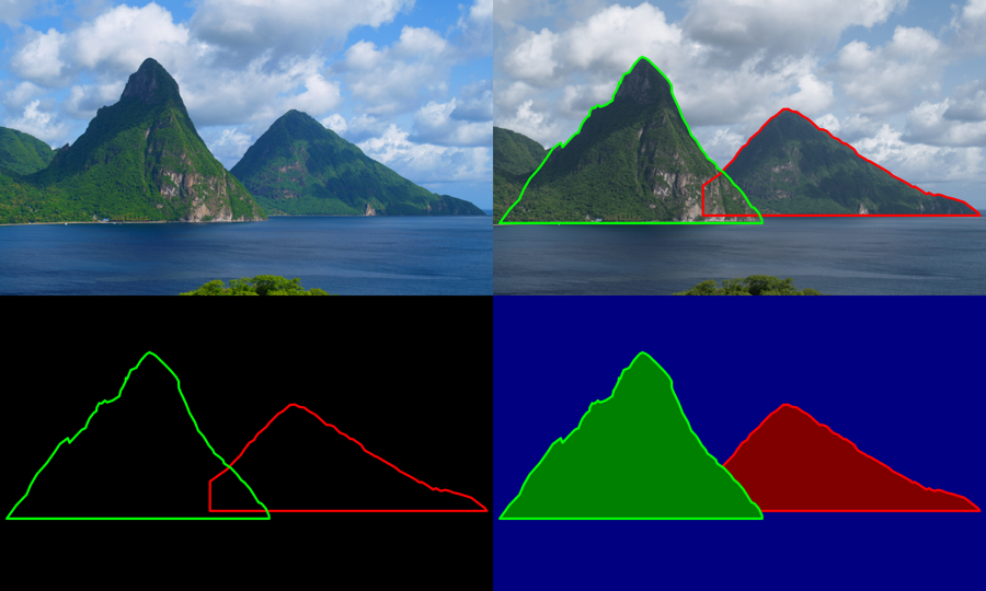 Tracing the Pitons