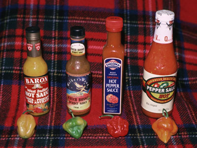 Scotch Bonnet Sauces
